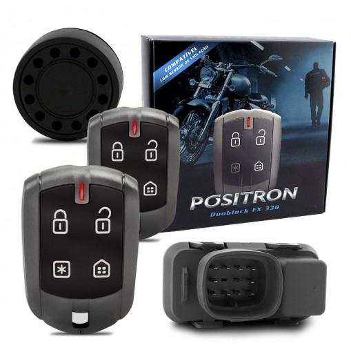 Alarme Automotivo para motos Pósitron Duoblock FX G7 para CB300 (todas)