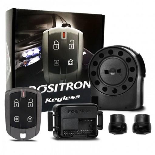 Alarme Pósitron Automotivo Keyless 330 para Carros - Usa Controle na Chave Original do Carro