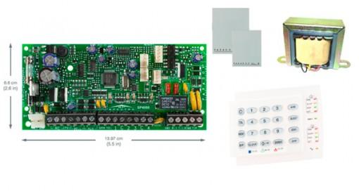 Alarme Residencial Monitorado Paradox SP4000 com Teclado K10H + Caixa e Trafo