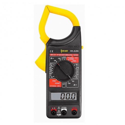 Alicate Amperímetro Digital HA-266 Hikari