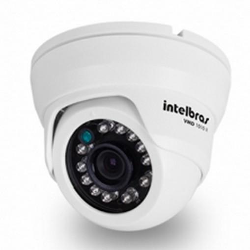 Câmera Infravermelho de Segurança VMD 1010 IR DOME 3,6MM - Intelbras