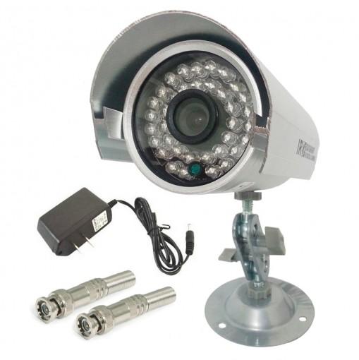 Câmera IR Infravermelho de Segurança CCD Color 36 Leds 1200TVL APRICA