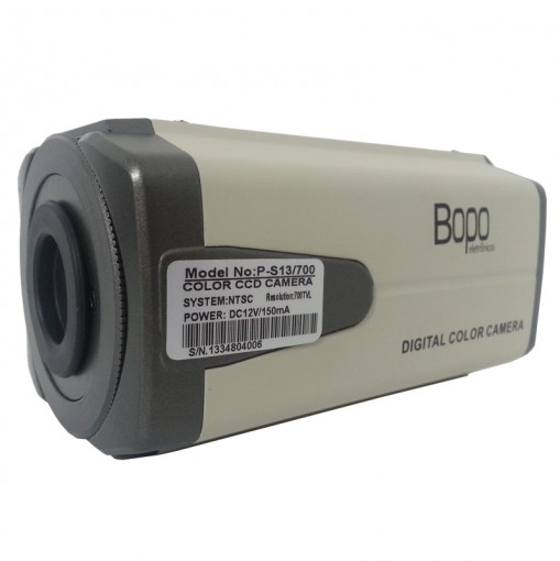 Câmera Profissional SONY eFFIO CCD 1/3 700 TVL P-S13/700 Bopo