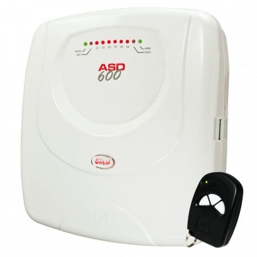 Central de Alarme Residencial ASD-600 Sinal JFL