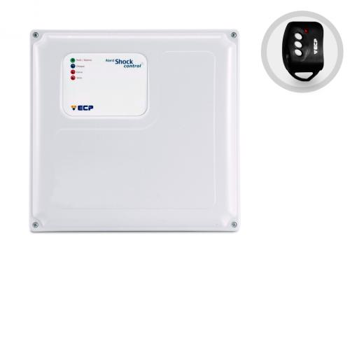 Central de Cerca Elétrica e Alarme com Controle Alard Shock Control ECP