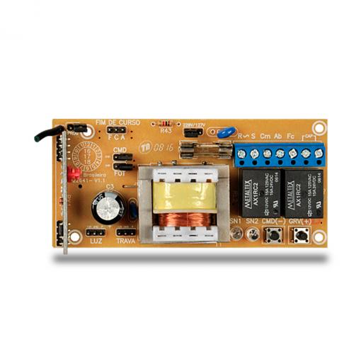 Central POP de Comando PPA para Automatizadores de Portão Eletrônico