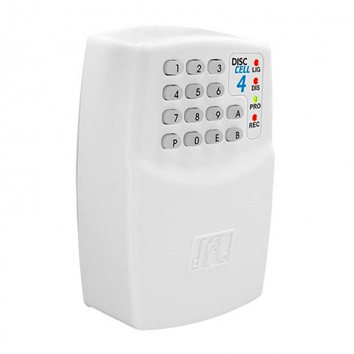 Discadora GSM Para Alarme e Cerca Elétrica JFL Disc Cell 4 Via Cartão GSM
