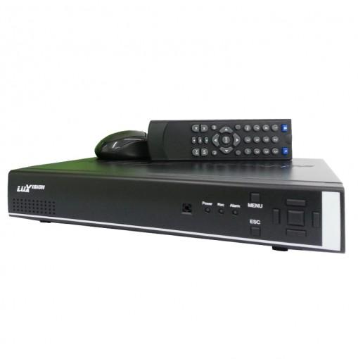 DVR Stand Alone Gravador Digital de Vídeo 16 Canais 480 FPS H.264 Com saída HDMI - Luxvision
