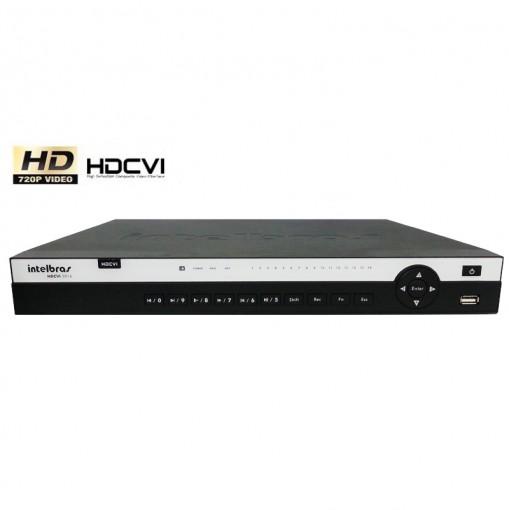 DVR Stand Alone Gravador digital de vídeo HDCVI 16 Canais Com Resolução HD 3016 Intelbras