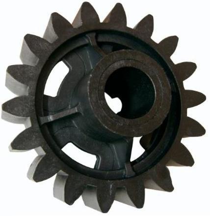Engrenagem Externa em Nylon para Motor de Portão Z18 Furo 17mm P16688
