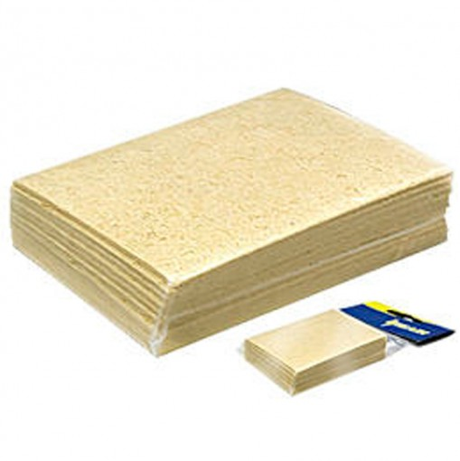 Esponja Espuma Vegetal de Limpeza Hikari - Pacote 10 unidades