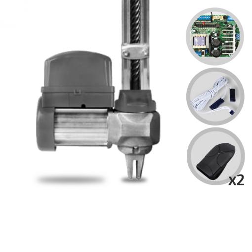 Kit Motor de Portão Eletrônico Basculante PPA Bv Condominium Jet Flex 1/2 HP