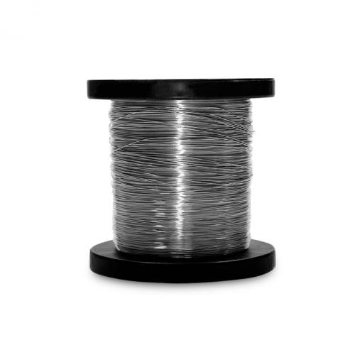 Rolo de Aço Inox Arame para Cerca Elétrica 0,90mm 180 Metros