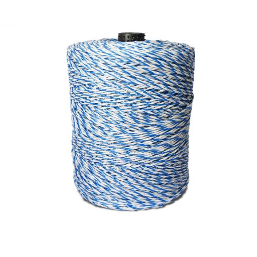 Rolo de Fio Eletroplástico 2,10mm Para Cerca Elétrica