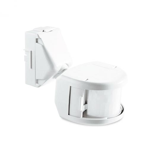 Sensor de Iluminação Articulado Exatron Externo Branco SPF0EX