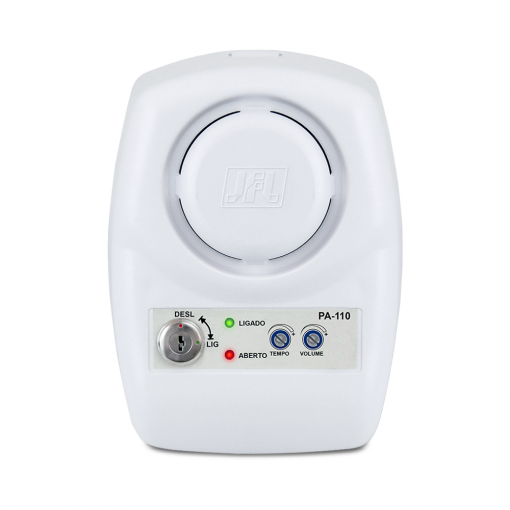 Sensor de Porta Aberta PA 110 JFL + Sensor Magnético Com Fio