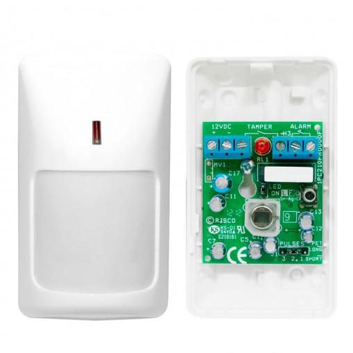Sensor Infravermelho Passivo Interno Com fio IVP RK210PR CoMET PIR Rokonet