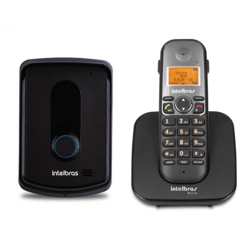 Telefone sem Fio com Ramal Externo TIS 5010 Intelbras