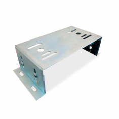 Base suporte em aço para Fixação de Automatizador de portão deslizante
