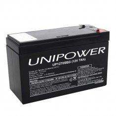Imagem - Bateria Selada 12V 7A Recarregável - Unipower