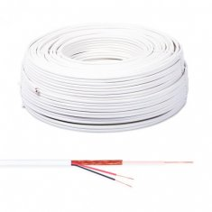 Cabo Trançado Flexível Bipolar 4 mm CFTV 100 metros Connect Cable