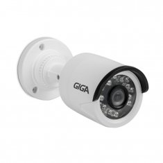 Câmera Bullet Giga 1080p Open HD Plus Infra 20m Sony Exmor - 1/2.9 - 3.6mm - UTC - IP66 - DWDR - GS0027