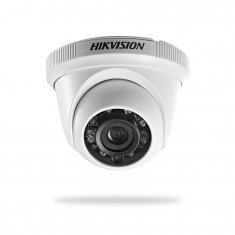 Câmera Dome Turbo HD TVI 720P 1MP Lente 2.8mm DS-2CE56C0T-IRP Hikvision