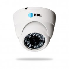 Câmera Dome HDL AHD High Definition 720p 1.0MP IR 20 metros