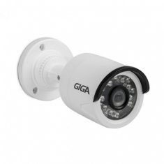 Câmera IP Bullet Giga 1 Mp - Infra 20m - DWDR - Sensor 1/4 - Lente 2.8mm - IP66 - GSIP1M20TB28
