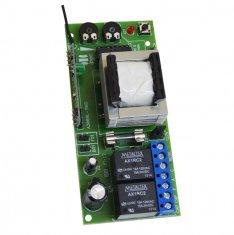 Central Universal Para Automatizador de Motor de Portão Eletrônico Facilima Light Blue IPec