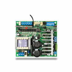 Central de Comando Para Motor de Portão Eletrônico PPA TriFlex Bivolt Híbrida