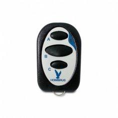 Controle Remoto para Alarmes e Portões Tx Copiador 433,92 3 Botões Hombrus