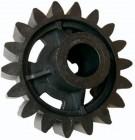 Imagem - Engrenagem Externa em Nylon para Motor de Portão Z14 Furo 17mm-(FURO 6mm) P13873
