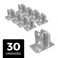 Kit 30 Suportes Para Big Haste Articulável 25x25mm