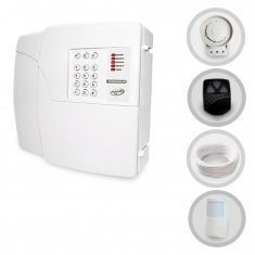 Kit Alarme Residencial Sem Fio PPA Com 1 Sensor e Discadora (Controles e Sensores Já Configurados)