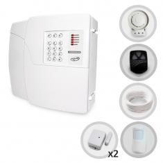 Kit Alarme Residencial e Comercial Sem Fio PPA Com 3 Sensores e Discadora