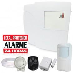 Kit Alarme Residencial ou Comercial Bopo 2 Setores com 2 Sensores sem fio