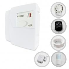 Kit Alarme Residencial PPA Codigus 2 com 2 Sensores sem fio (Controles e Sensores Já Cadastrados)