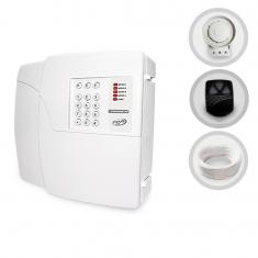 Imagem - Kit Central de Alarme Residencial PPA + Sirene e Cabo (Sem Sensores)