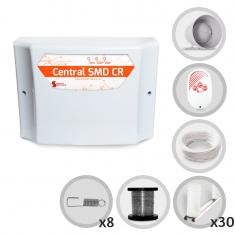 Kit Cerca Elétrica GCP Para 90 Metros de Muro (Sem Bateria)
