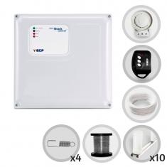 Kit Cerca Elétrica Shock Control ECP Para 30 Metros de Muro (Sem Bateria)