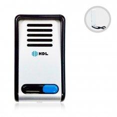 Kit Interfone Porteiro Eletrônico F8 NTL AZ02 HDL Branco