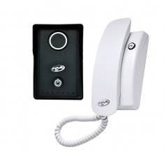 Kit Interfone Porteiro Eletrônico Vox Slim PPA