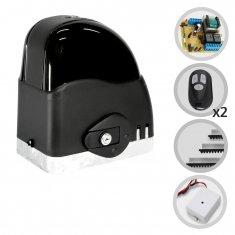 Kit Motor de Portão Eletrônico Deslizante SliderAL Slim RCG + Tx Car