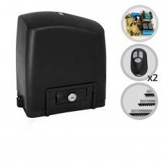 Kit Motor de Portão Eletrônico Deslizante SliderPL Maxi 1/4 HP RCG