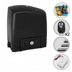 Kit Motor de Portão Eletrônico Deslizante SliderPL Maxi 1/4 HP RCG + Tx Car
