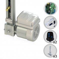 Kit Motor de Portão Eletrônico Basculante Fast Gatter 1/4 HP Peccinin + Suportes
