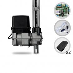 Imagem - Kit Motor de Portão Eletrônico Basculante PPA Bv Home 1/4 HP 1,40m Jet Flex