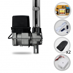 Kit Motor de Portão Eletrônico Basculante PPA Bv Home 1/4 Hp 1,40m + Tx Car