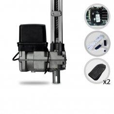 Imagem - Kit Motor de Portão Eletrônico Basculante PPA BV Home Robust Jet Flex Facility Hibrida